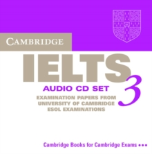 Cambridge IELTS 3 Audio CD Set (2 CDs) : Examination Papers from the University of Cambridge Local Examinations Syndicate, CD-Audio Book