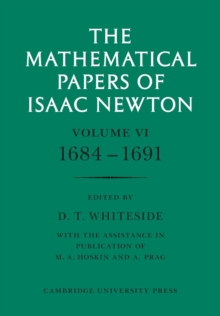 The Mathematical Papers of Isaac Newton: Volume 1, Paperback / softback Book