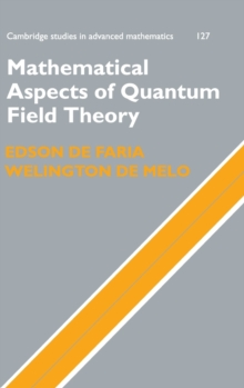 Mathematical Aspects of Quantum Field Theory, Hardback Book