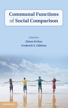 Communal Functions of Social Comparison, Hardback Book
