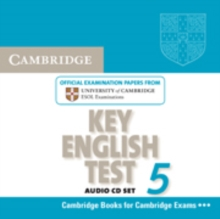 KET Practice Tests : Cambridge Key English Test 5 Audio CD: Official  Examination Papers from University of Cambridge ESOL Examinations