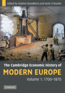 The Cambridge Economic History of Modern Europe : The Cambridge Economic History of Modern Europe 2 Volume Paperback Set, Mixed media product Book