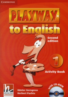 Playway to English Level 1 Activity Book with CD-ROM, Mixed media product Book