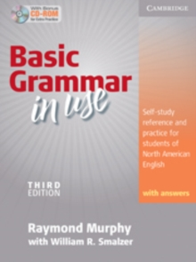 Basic Grammar in Use Student's Book with Answers and CD-ROM : Self-study Reference and Practice for Students of North American English, Mixed media product Book