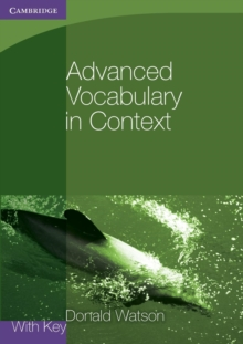Advanced Vocabulary in Context with Key, Paperback Book