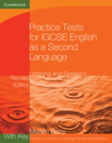 Practice Tests for IGCSE English as a Second Language: Listening and Speaking Book 1 with Key, Paperback / softback Book