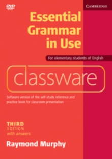 Essential Grammar in Use Elementary Level Classware DVD-ROM with Answers, DVD-ROM Book