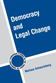 Democracy and Legal Change, Paperback / softback Book