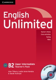 English Unlimited Upper Intermediate Teacher's Pack (teacher's Book with DVD-ROM), Mixed media product Book