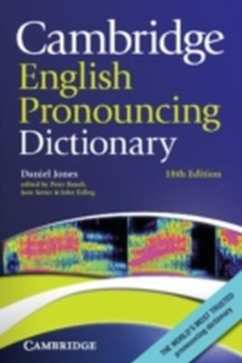 Cambridge English Pronouncing Dictionary, Paperback Book