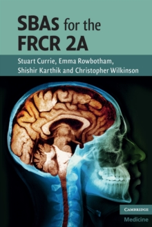 SBAs for the FRCR 2A, Paperback Book