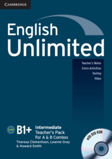 English Unlimited Intermediate Teacher's Pack (teacher's Book with DVD-ROM), Mixed media product Book