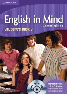 English in Mind Level 3 Student's Book with DVD-ROM, Mixed media product Book