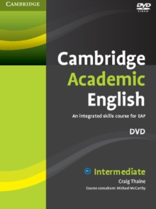 Cambridge Academic English B1+ Intermediate DVD : An Integrated Skills Course for EAP, DVD video Book