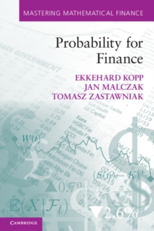 Probability for Finance, Paperback / softback Book