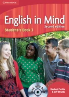 English in Mind Level 1 Student's Book with DVD-ROM, Mixed media product Book