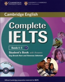 Complete IELTS Bands 4-5 Student's Book with Answers with CD-ROM, Mixed media product Book