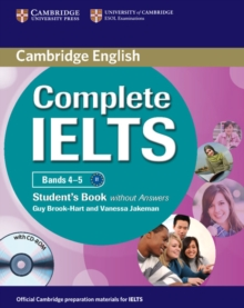 Complete : Complete IELTS Bands 4-5 Student's Book without Answers with CD-ROM, Mixed media product Book