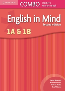 English in Mind Levels 1A and 1B Combo Teacher's Resource Book, Spiral bound Book