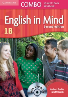 English in Mind Level 1b Combo B with DVD-ROM, Mixed media product Book