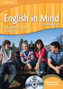 English in Mind Starter Level Student's Book with DVD-ROM, Mixed media product Book