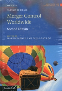 Antitrust and Competition Law : Merger Control Worldwide 2 Volume Set, Hardback Book
