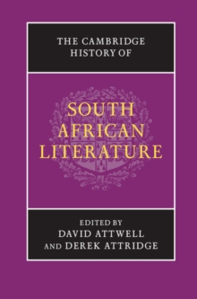The Cambridge History of South African Literature, Hardback Book