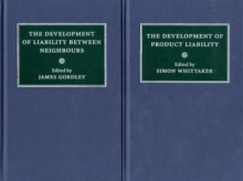 Comparative Studies in the Development of the Law of Torts in Europe 6 Volume Set, Hardback Book
