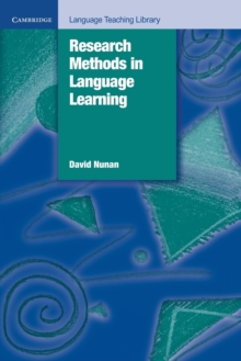Research Methods in Language Learning, Paperback Book