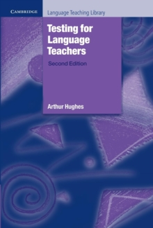 Testing for Language Teachers, Paperback Book