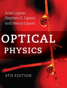Optical Physics, Hardback Book