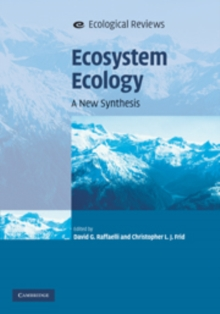 Ecosystem Ecology : A New Synthesis, Hardback Book