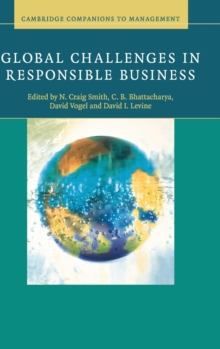 Global Challenges in Responsible Business, Hardback Book