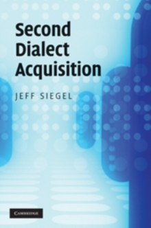 Second Dialect Acquisition, Hardback Book
