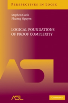 Logical Foundations of Proof Complexity, Hardback Book