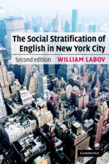 The Social Stratification of English in New York City, Paperback / softback Book