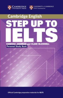 Step Up to IELTS Personal Study Book, Paperback Book