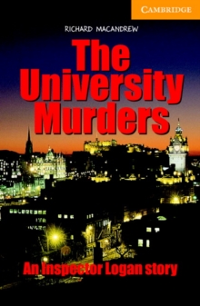 Cambridge English Readers : The University Murders Level 4, Paperback / softback Book