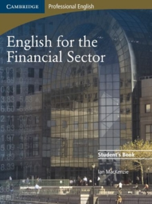 English for the Financial Sector Student's Book, Paperback Book