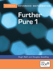 Cambridge Advanced Level Mathematics for OCR : Further Pure 1 for OCR, Paperback / softback Book