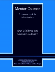 Mentor Courses : A Resource Book for Trainer-Trainers, Paperback Book