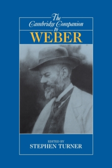 The Cambridge Companion to Weber, Paperback / softback Book