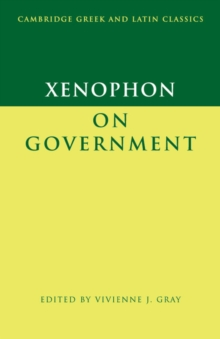 Xenophon on Government, Paperback / softback Book