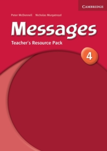 Messages 4 Teacher's Resource Pack, Paperback Book
