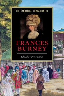 The Cambridge Companion to Frances Burney, Paperback / softback Book