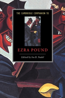The Cambridge Companion to Ezra Pound, Paperback / softback Book