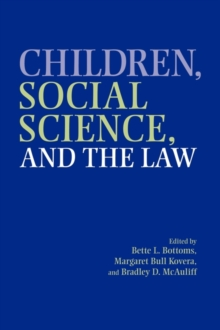 Children, Social Science, and the Law, Paperback / softback Book
