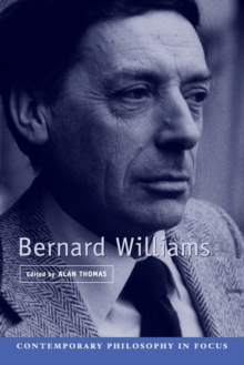 Bernard Williams, Paperback / softback Book