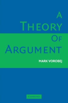 A Theory of Argument, Paperback / softback Book