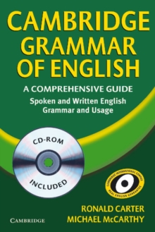 Cambridge Grammar of English Paperback with CD-ROM : A Comprehensive Guide, Mixed media product Book